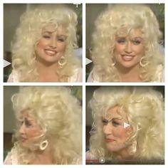 Dolly Parton hair rhinestone                              …