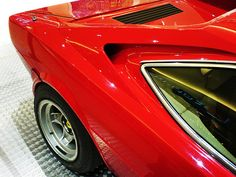 Ferrari 308 GT4 - an awkwardly styled car, but looks sharp from this angle