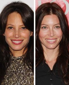 Christy Turlington and Jessica Biel Look Alike. Were They Separated At Birth?
