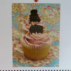 Cupcakes with Fruit! Nevie-Pie Cakes Calender by neviepiecakes, via Flickr
