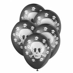 Buy Jolly Roger Premium Balloons from our Adult Occasions range - @ Early Years Resources Pirate Party Supplies, Jolly Roger, Pirate Theme, Pirates, Party Themes, Balloons, Stuff To Buy, Globes, Hot Air Balloons