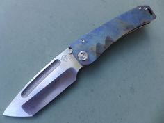 Medford Knife MARAUDER - Satin D2 - Flamed Ti - MK07DSTT-03FL Unit 26   eBay