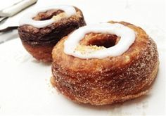 Vegan Cronut - Croissant meets donut but without dairy or eggs!