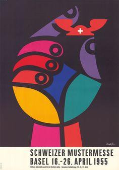 Donald Brun, Schweizer Mustermesse Basel, 1955