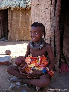 The Himba are a tribe in Nambia - located in Southern Africa