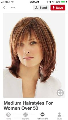 49b300811b7 Haircuts For Medium Length Hair With Bangs, Long Length Hairstyles, Layered  Haircuts Shoulder Length
