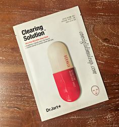 Review: Dermask Micro Jet Clearing Solution - Dr.Jart