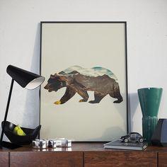Poster - Bear Side - Decohouse