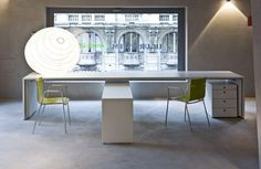 Tre white X style desk http://www.spaceist.co.uk/office-furniture/featured-office-ranges/office-ranges/tre-desk-range