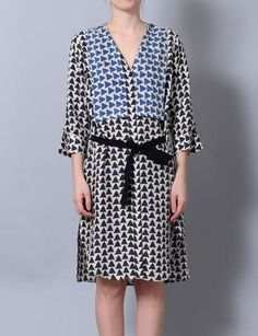 Sibel Saral hikmet print dress at Bird : ShopBird.com