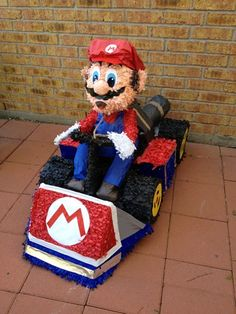 Pinatas in Houston. Custom made Pinatas Mario Party Games, How To Make Pinata, Mario Kart, Diy Pallet Projects, Go Kart, 5th Birthday, Pinata Ideas, Houston, Cards