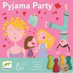 djeco bordspel pyjama party