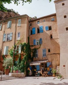 South of France: Provence Guide - Find Us Lost - Cotignac town near Gorges du Verdon in the South of France via Find Us Lost Aix En Provence, Provence Lavender, Provence France, French Lavender, Paris Travel, France Travel, Moustiers Sainte Marie, Valensole, Road Trip Essentials