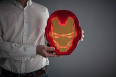 Our product is the unique Iron man helmet night lamp that is made with love and care for the most important people in your life. This Iron man helmet night light works on the simple batteries, which is very convenient because you can place it anywhere you want. Marquee light is made from