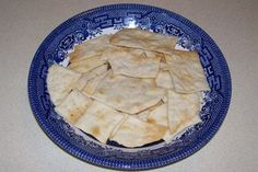 Picture of Easy Bake Water Crackers Water Crackers Recipe, Snack Recipes, Dessert Recipes, Bread Recipes, Desserts, Daniel Fast Recipes, 4 Ingredient Recipes, Homemade Chips, Everyday Food