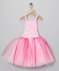 Look at this Pink Twinkle Dress - Toddler & Girls on #zulily today!