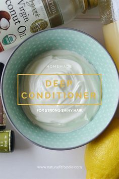 Homemade Deep Conditioner - This Homemade Deep Conditioner is full of nourishing ingredients to revive your hair and improve its condition. Achieve healthier locks with every use!