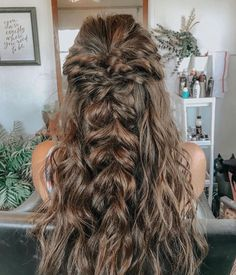 Pretty Hairstyles, Braided Hairstyles, Wedding Hairstyles, Hairstyle Ideas, Hairdos, Men Hairstyles, Black Hairstyles, Boho Hairstyles For Long Hair, Drawing Hairstyles