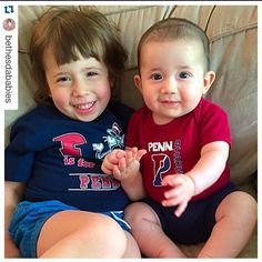 #Repost @bethesdababies with @repostapp. ・・・ M and HJ showing their Quaker pride--exactly 11 years since my graduation from Penn. I cannot believe M and I are practically the same length of time from the first day of Freshman year--I hope the next 15 years go a whole lot slower than the past 15 years! #penn #upenn #quakertime #pennpride #bethesdababies #universityofpennsylvania #slowdown So grateful I get to stay home with them right now and am cherishing these early years #mypennpath