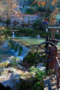 Region of Kryas in Livadia, Greece Places To Travel, Places To See, Beautiful World, Beautiful Places, Places In Greece, Le Palais, Thessaloniki, Greece Travel, Greek Islands