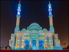 Al Noor masjid Sharjah ,U.A.E