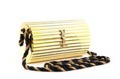 Yves Saint Laurent Vintage Gold Minaudiere