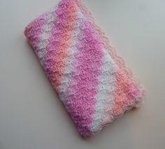 crochet baby blanket, pink baby blanket, crochet blanket, car seat blanket, c2c blanket, girls blanket, baby girl, pram blanket by UniquelySam on Etsy