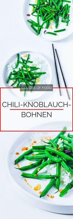 Ein leckeres Gericht muss nicht immer kompliziert sein und lange dauern. Diese super leckeren, knackigen grüne Bohnen sind ruckzuck zubereitet. Yummy!