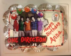 Anna's One Direction cake