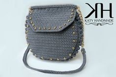 "Borsa ""Charlene"" crochet bag by Katy Handmade"