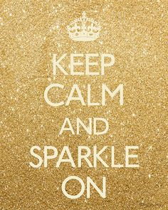 Keep Calm and Sparkle On Printable Art Instant by PennyJaneDesign