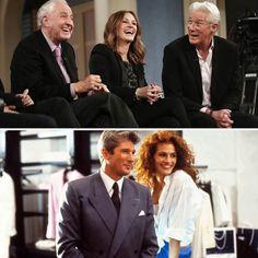 Julia Roberts et Richard Gere se retrouvent pour les 25 ans de Pretty Woman - Réunion | HollywoodPQ.com