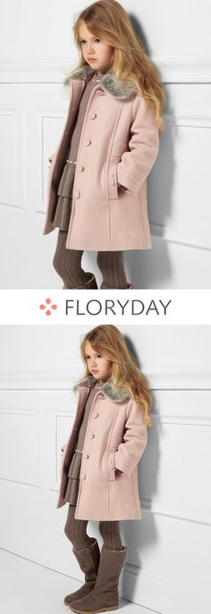 Shop Floryday for affordable Kids.Floryday offers latest Kids collections to fit every occasion. Tween Fashion, Little Girl Fashion, Toddler Fashion, Cute Outfits For Kids, Baby Outfits, Girls Winter Coats, Kids Coats Girls, Little Girls Coats, Childrens Coats