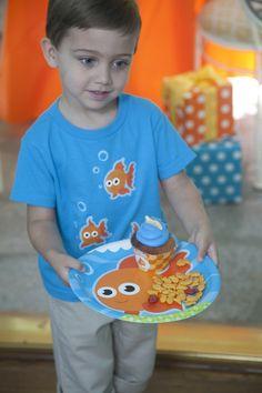 Goldfish Birthday Party Ideas  #Kids #Party #BirthdayExpress