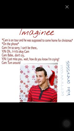Cameron Dallas and Christmas love