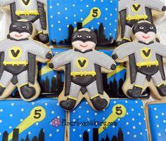 Flour Box Bakery — How to Decorate a Superhero Cookie