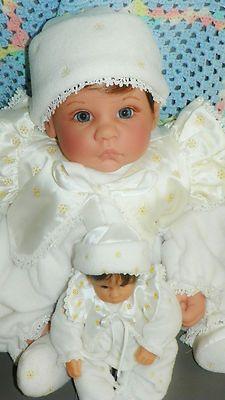 Lee Middleton Doll Winter Angel Miniature Winter Angel Reva Schick | eBay
