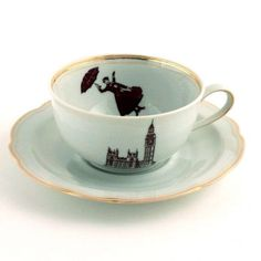 Mary Poppins tea cup