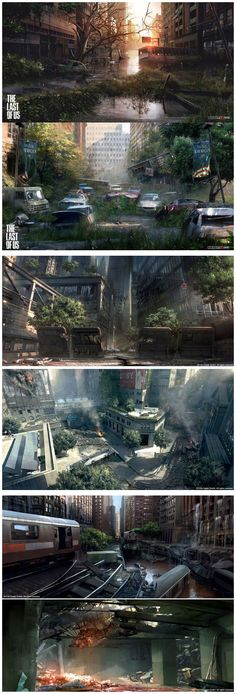 One of the things that I admired about the game was its beautiful environments. They were beautiful, and way better than most games. The Last of Us