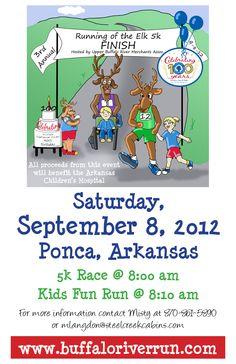 5k Charity Run for Arkansas Children's Hospital