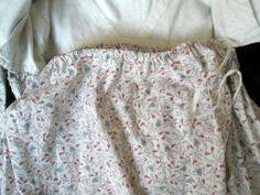 Regency Era Print Dress
