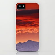 Veleta sunrise iPhone & iPod Case by Guido Montañés - $35.00
