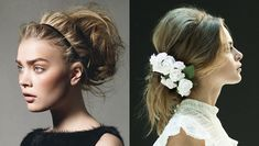 wedding hair | the messy look - Something Turquoise {ideas for the ...