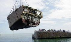 Amazing Pictures of Things Cut in Half: A U.S. Navy Minesweeper