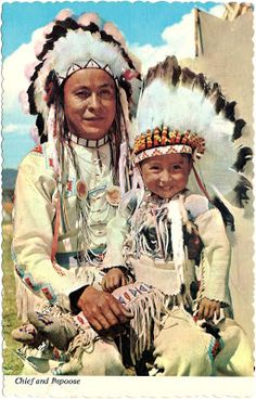 UNITED STATES - Plains Indian Feathered War Bonnets (2)