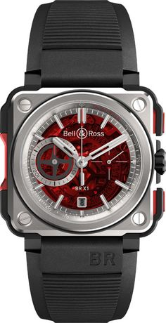 Bell & Ross lança BR-X1 CHRONOGRAPH Red Edition