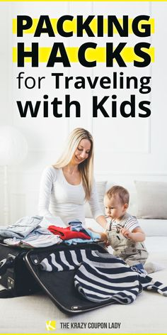 Need packing tips for vacation? How about packing hacks for traveling with kids? The Krazy Coupon Lady has you covered. Family vacations are the best, but packing for kids can be a drag. They seriously need so. much. stuff. Don't worry, though. We've got some of the best ways to get your packing act together so you can enjoy your vacation with kids without the stress, whether you're headed to the beach, the country, the city, or somewhere in between. Packing Hacks, Packing Tips For Vacation, Enjoy Your Vacation, Vacation Ideas, Travel Tips, Coupon Lady, Get Baby, Free Things To Do, Family Vacations