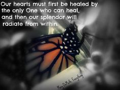 The One who heals hearts. Created by Deanna Albrecht.
