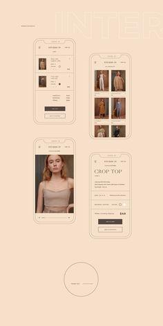 Web Design Trends, Fashion Web Design, App Design, Layout Design, Website Design Mockup, Website Design Inspiration, Graphic Design Inspiration, Website Layout, Typography Design