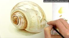 Learn how to paint a realistic shiny shell in this watercolor technique how-to video with me, Anna Mason. Then come and join me at WatercolorsWithWOW.com for...